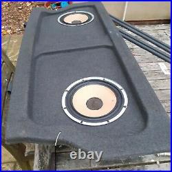 1989 SUZUKI SWIFT REAR BACK PARCEL SHELF SHELVE BOOT TRUNK /Speaker/ door trims