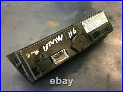 2006 BMW 116i E87 DIGITAL CLIMATE CONTROL SWITCHBOARD BUTTONS 6958536-01 BMW6411