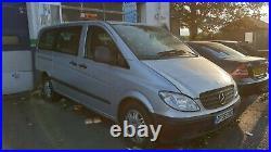 2006 W639 Mercedes Vito 111 Viano Internal Cabin Heater Blower Twin Fan + Motor