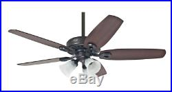 3 light kit ceiling fan with pull chain 132 cm 52 HUNTER BUILDER PLUS Bronze