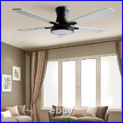 42 Inch Indoor Ceiling Fan with Light Kit and Remote For Living Room Home Office