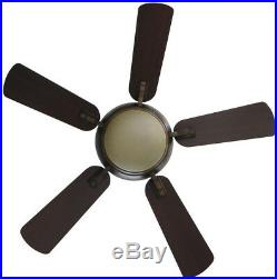 44 in. LED Indoor Ceiling Fan with Light Kit and Remote Control Small Room