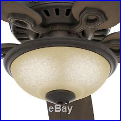 52 Midnight Copper LED Indoor Ceiling Fan with Light Kit