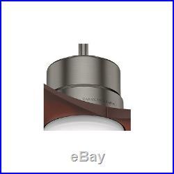 52-in Brushed Slate Downrod Close Mount Indoor Outdoor Ceiling Fan Light Kit