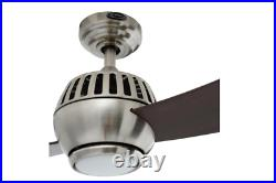52 in Indoor Ceiling Fan 2 Blade Remote Control 3 Speed Light Kit Downrod Mount