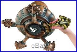 52 in. LED Indoor Mediterranean Dark Walnut Ceiling Fan Light Kit Remote Control