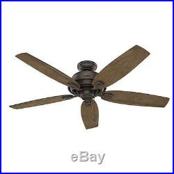 54 Onyx Bengal LED Light Indoor Ceiling Fan with Light Kit