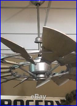 60 OUTDOOR Windmill Ceiling Fan From 2017 Collection NOT LIGHT KIT COMPATIBLE