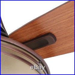 60 in. Ceiling Fan Light Kit Oil-Brushed Bronze Finish