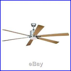 72 Brushed Nickel with Integrated LED Indoor Ceiling Fan with Light Kit