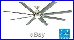 72 Large Windmill Ceiling Fan LED Light Kit & Remote Industrial Home Lighting