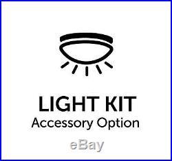 84 Fanimation Odyn 9 Blade LED Ceiling Fan withRemote & Light Kit Dark Bronze