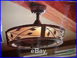 Allen Roth Eastview 23 In Bronze Ceiling Fan With Light