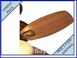 Allen + roth Laralyn 32-in Dark Oil-Rubbed Bronze Indoor Ceiling Fan withLight Kit