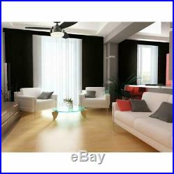 Alloy Iron Ceiling Fan 42 Flush Mount With Light Kit Indoor Outdoor Home New