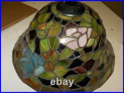 Astoria Grand Diane Rosebush 3 Bowl Tiffany Ceiling Fan Light Kit MEY1158