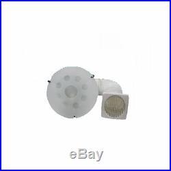 Bathroom Shower Extractor Fan + Light Greenwood D125LTG Affresco Extraction Kit
