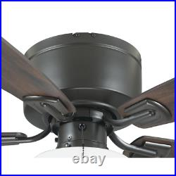 Bellina 42 In. Oil-Rubbed Bronze Ceiling Fan With Light Kit