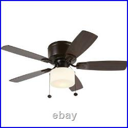 Bellina Oil-Rubbed Bronze Ceiling Fan with LED Light Kit (42 in.)