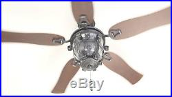 Black Iron 52 Downrod or Close Mount Indoor Outdoor Ceiling Fan with Light Kit