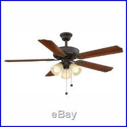 Brookhurst Ceiling Fan LED Light Kit 52 in. Oil Rubbed Bronze