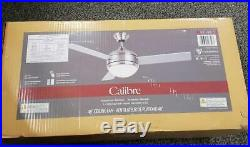 == Canarm Calibre 48 Brushed Pewter Indoor Ceiling Fan With Light Kit Remote