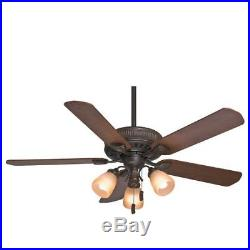 Casablanca 54006 Ainsworth 54 Ceiling Fan with Blades and Light Kit