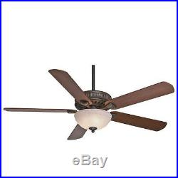 Casablanca 55006 60 Ceiling Fan withBlades, Light Kit, and Wall Control