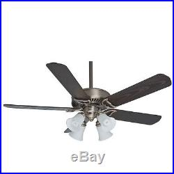 Casablanca 55059 Gallery 54 Ceiling Fan withBlades, Light Kit, and Wall Control
