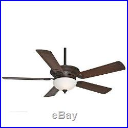 Casablanca 59060 Whitman 54 5 Blade Ceiling Fan Blades and Light Kit Included