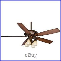 Casablanca 59536 Holliston 60 Ceiling Fan with Blades and Light Kit