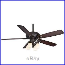 Casablanca 59537 Holliston 60 Ceiling Fan with Blades and Light Kit