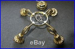Casablanca Bright Brass K5L-2 4 Loop Arm Ceiling Fan Light Kit Fixture Fitter