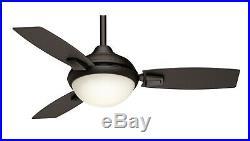 Casablanca Fan 44 Maiden Bronze Ceiling Fan LED Light Kit with Remote Control