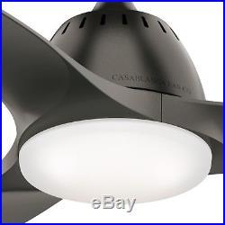 Casablanca Fan 44 inch Contemporary Nobel Bronze Ceiling Fan with LED Light Kit