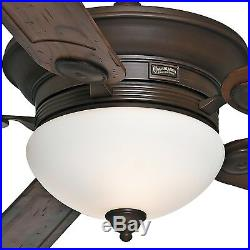Casablanca Fan 54 inch Brushed Cocoa Ceiling Fan with Light Kit