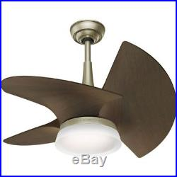 Casablanca Orchid 30 Ceiling Fan 3 Fan Blades and LED Light Kit Included