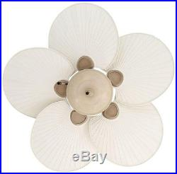 Ceiling Fan Havana 48 In. Cappuccino Outdoor Five Palm Blades Bowl Light Kit
