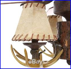 Ceiling Fan Light Kit 52 in. 5 Blades Reversible Motor 3-Speed Remote Control