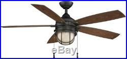 Ceiling Fan Light Kit 52 in. LED Indoor/Outdoor Natural Iron 5 Weather Resistant
