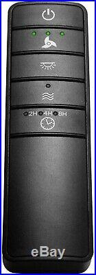 Ceiling Fan Light Kit 70 in. 100 rpm Modern LED Reversible Motor Brushed Nickel