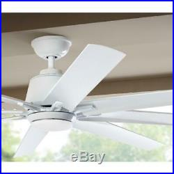 Ceiling Fan Light Kit 72 in. LED 8-Blades 9-Speed Dimmable Remote Controlled