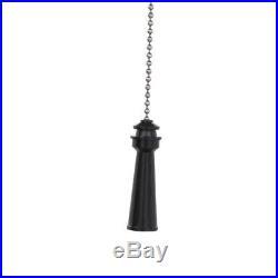 Ceiling Fan Light Kit Led Glass Bowl Fixture 5 Palm Blades Cambridge Silver 48