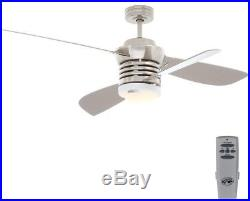 Ceiling Fan Light Kit Remote Control Pilot 60 in. And amp 52 in. Indoor Nickel
