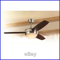 Ceiling Fan New Oscillating LED Indoor Outdoor Light Kit Remote Harbor Breeze