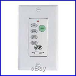 Ceiling Fan Wall Remote Control Wireless or Wired Light Speed Switch Panel Kit