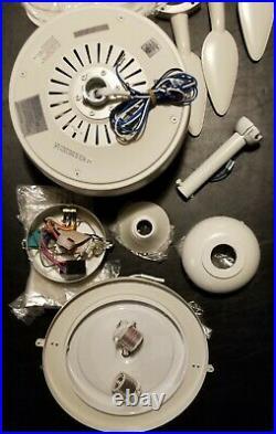 Ceiling Fan Waveport 52-in White LED Indoor/Outdoor Light Kit (5-Blade) No Light