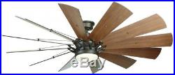 Ceiling Fan With Light Kit And Remote Control Indoor 60 Inch LED Espresso Bronze