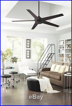 Ceiling Fan with LED Light Kit and Remote ENERGY STAR Indoor/Outdoor New