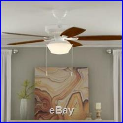 Ceiling Fan with Light Kit Indoor Outdoor LED 5 Blade Gazebo Patio Living Room